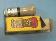 VINTAGE SANTAY NOS CIGARETTE CIGAR LIGHTER ORIGINAL BOX 1940s GM FORD CHEVY Gray