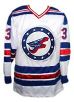 Any Name Number Size Spokane Flyers Custom Retro Hockey Jersey White