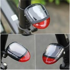 Riding Safety Warning Solar Energy Bike Red Tail Light Bicycle Accessories