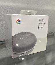 BRAND NEW Google Home Mini Smart Speaker Chalk Sealed