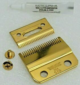 🏆 Wahl Cordless Magic Clip Stagger-Tooth Replacement Blade #2161 in 24K GOLD 🏆