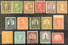 UNITED STATES - MINT SINGLES - ISSUES OF 1922-1925