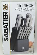 Sabatier® 15-Piece Knife Block Set