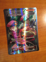 LP  Full Art POKEMON RANGER Card STEAM SIEGE Set 113/114 XY Ultra Rare Trainer