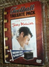JERRY MAGUIRE DVD FOOTBALL TAILGATE PACK WITH 6-PACK COOLER, NEW,SEALED, RARE!