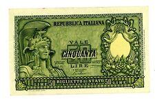 Italy ... P-91a  ... 50 Lire ... (1951)ND  ... CH*AU-UNC*