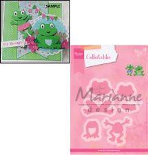 Marianne Design Collectables - Eline's Frog Craft Die Set COL1352