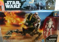 "Disney Hasbro Star Wars Assault Walker with 5"" Stormtrooper Sergeant New"