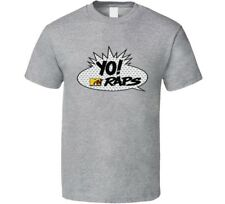 Yo Mtv Raps 80s Vintage Pop Art Bubble Retro Fan T Shirt
