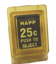 25 Cent Happ Coin Return Assembly for Arcade and Pinball Games