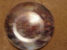 Thomas Kinkade Bradford Exchange Simpler Times Collectors Plate Jan to Dec