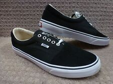 "Vans Men's Shoes ""Rowley Solos "" -- Color Black/White"
