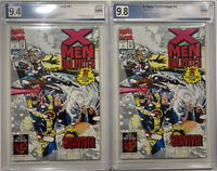 X-Men Unlimited #1 PGX NM/M 9.8 9.4 White Pages LOT OF TWO COPIES