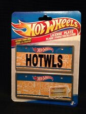 Hot Wheels Mini License Plate ~ Design Your Own - Set of Two