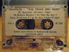 RARE PROMO david Chastain CASSETTE TAPE For Those Who Dare metal King Diamond RC