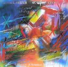 Michael réchauffeur 45 90 180 Geometric poster image Art pression 117x117cm-sans frais de port