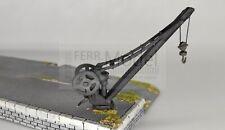 FERRMODEL 372  - Gru FS per piano di carico, in metallo. Scala H0