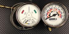 FORDSON SUPER MAJOR TRATTORE temperature gauge & CONTAGIRI CON LUCI INTERNE