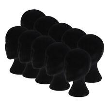 New Listing10x Styrofoam Female Mannequin Head Models Display Stand Wigs Glasses Hat Holder