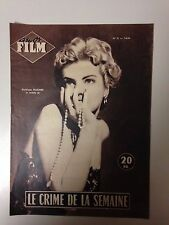 AMOR FILM N°31 1954 LE CRIME DE LA SEMAINE / KATHLEEN HUGHES