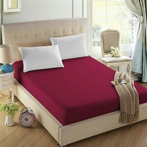 4U LIFE Bedding Fitted Sheet-Prime 1800 Series, Double Brushed Microfiber,Ultra-