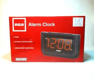 """RCA Digital Alarm Clock with Large 1.4"""" Display-RCD30A-Free Shipping"""
