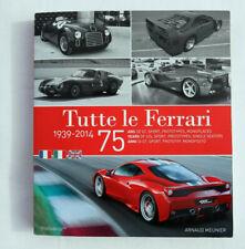 livre Tutte Le Ferrari
