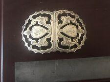Sterling Silver Antique Belt Buckle