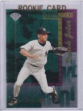 Derek Jeter GOLD LEAF ROOKIE CARD New York Yankees Foil BASEBALL RC