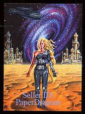 BARCLAY SHAW - Metallic Storm Chase Card MS1 - The Complete Asimov, Vol. 2