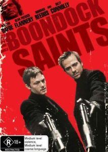 THE BOONDOCK SAINTS - WILLIAM DAFOE / BILLY CONNOLLY..R4...VGC+   V1
