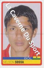 N°054 NELSON SOSSA # BOLIVIA STICKER PANINI COPA AMERICA VENEZUELA 2007