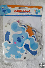 Blue Clues Alphabet Hinged Banner With Stickers Deco  New