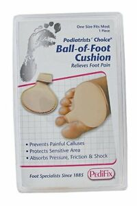 Pedifix Deluxe Nylon-Covered Metatarsal Cushion -P88  (3 PACK)