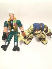 Small Soldiers Action Figure Lot Chip Hazard Electronic Toy & Gorgonite Toys