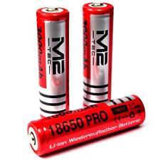 3 x M2 Tech Pro 3000 mAh Lithium - Ionen Akku 3,7 V / 11,8 Wh Typ 18650 je 37 g