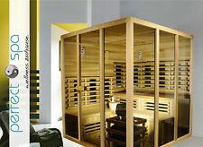 Sauna Ecksauna Infrarotkabine Sidney Wellness 9KW Saunaofen 1900x1900x2100mm NEU