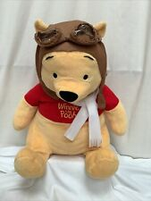 Disney Winnie The Pooh Plush Large Soft Toy Teddy Collectable 18 Inch Pilot