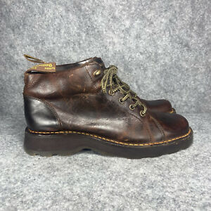 Dr. MARTENS Air Wair Bodie Boots Men's Size 12 M US AW004 Brown