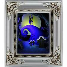 Disney Olszewski Gallery Of Light - JACK & SALLY EMBRACE * NIGHTMARE BEFORE XMAS