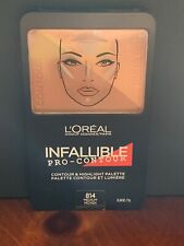 L'Oreal Infallible Pro-Contour and Highlight Palette 814 Medium NEW!!!