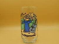 """Vintage, 1985 Alvin and the Chipmunks """"Simon"""" Drink Glass"""