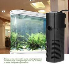 5W Aquarium Pumpe Filter Tauchpumpe Aquarienfilter Innenfilter Aktivkohle Filter