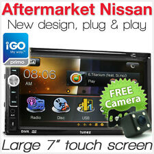 "7"" Car DVD GPS Player For Nissan Note Micra NV200 Combi Stereo Radio USB CD MK"