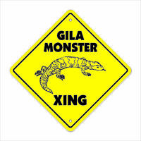 Gila Monster Crossing Decal Zone Xing Tall lizard desert supplies
