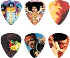 Dunlop Jhpt08H Jimi Hendrix Frontline Pick Tin, Assorted, Heavy, 6 Picks/Tin