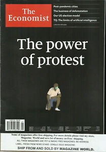 THE ECONOMIST WEEKLY MAGAZINE, THE POWER OF PROTES  JUNE, 13th - JUNE, 19th 2020