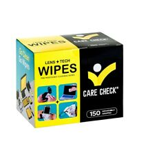 Pre-Moistened Lens & Screen Wipes - 150 Cleaning Cloths | Camera Glasses Phones