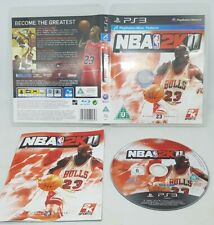 NBA 2K11 Sony PlayStation 3 Move Compatible Basketball 2011 PS3 FAST Free Post