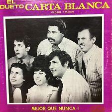 """""""Tejano Tex-Mex"""" """"El Dueto Carta Blanca"""" """"Mejor Que Nunca"""" """"Rare LP"""""""
